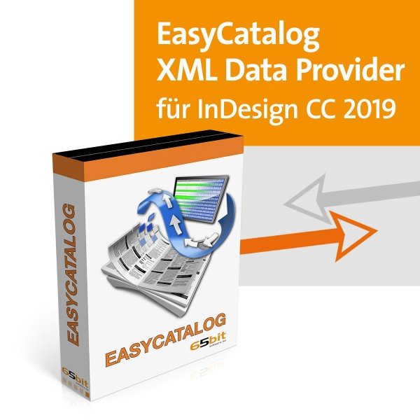 EasyCatalog CC 2019 Win/Mac XML Data-Provider Modul