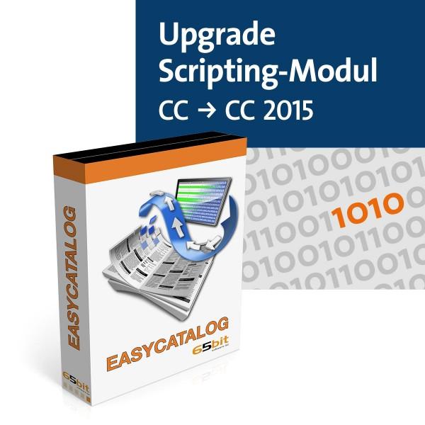EasyCatalog Upgrade Scripting-Modul