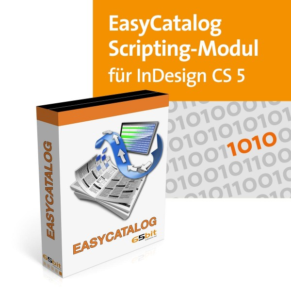 EasyCatalog CS5 Win/Mac Scripting-Modul