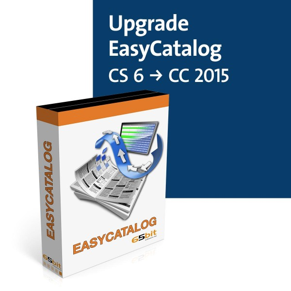 EasyCatalog Single-Version Upgrade Vollversion (CS6 auf CC2015)