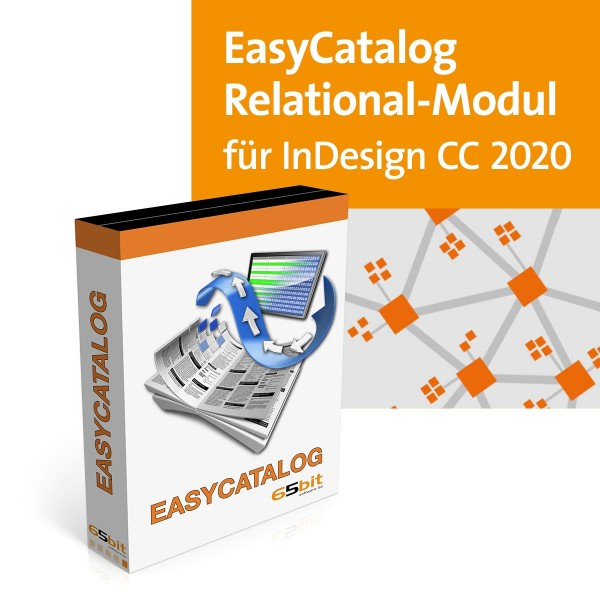 EasyCatalog CC 2020Win/Mac Relational Modul