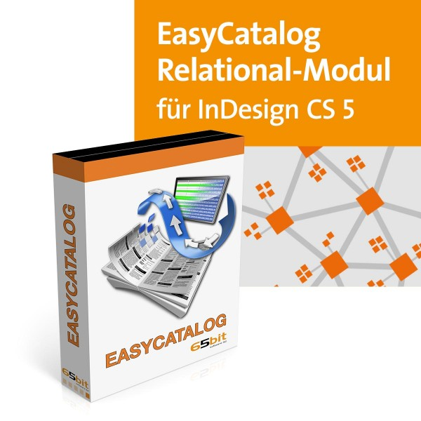 EasyCatalog CS5 Win/Mac Relational Modul