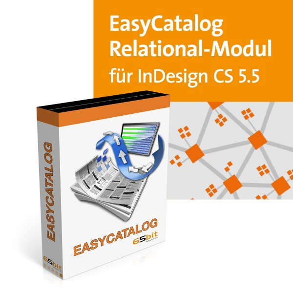 EasyCatalog CS5.5 Win/Mac Relational Modul
