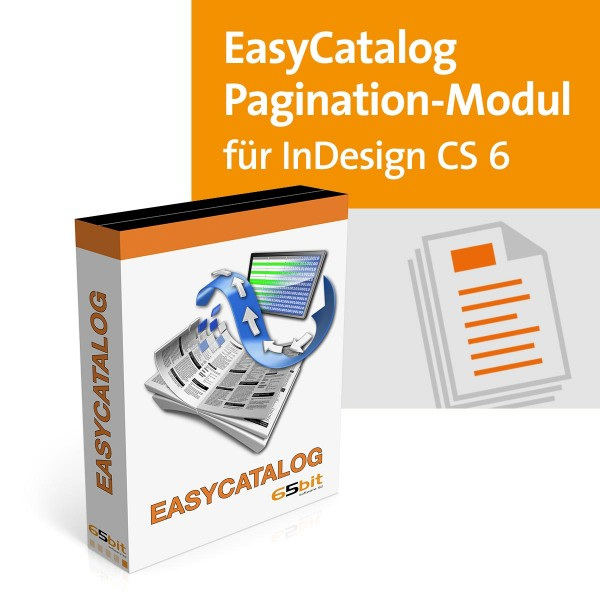 EasyCatalog CS6 Win/Mac Pagination Modul