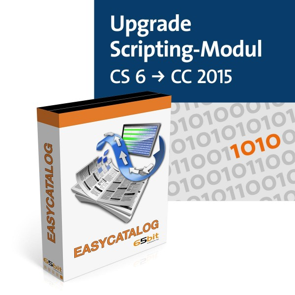EasyCatalog Single-Version Upgrade Scripting-Modul