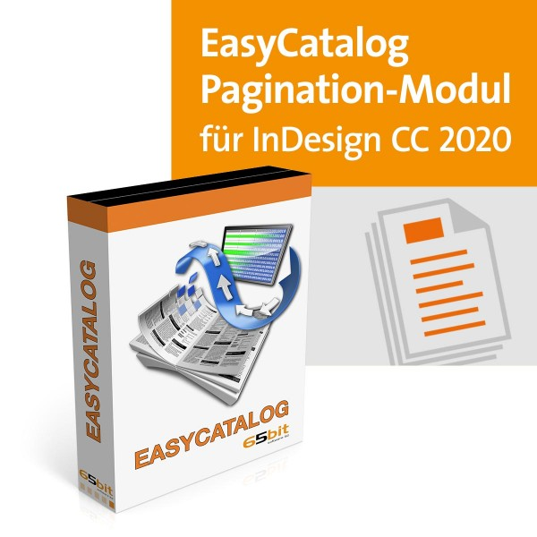 EasyCatalog CC 2020 Win/Mac Pagination Modul