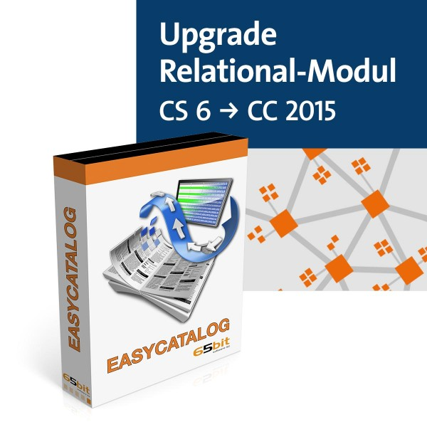 EasyCatalog Single-Version Upgrade Relational Modul