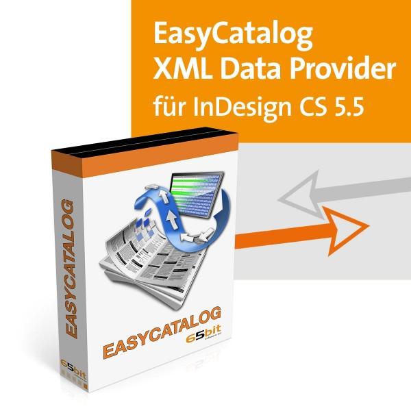 EasyCatalog CS5.5 Win/Mac XML Data-Provider Modul